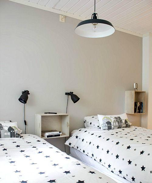 SImple, minimal kids room - scandinavian kids room
