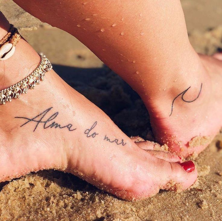Pin em Tatuagens praianas