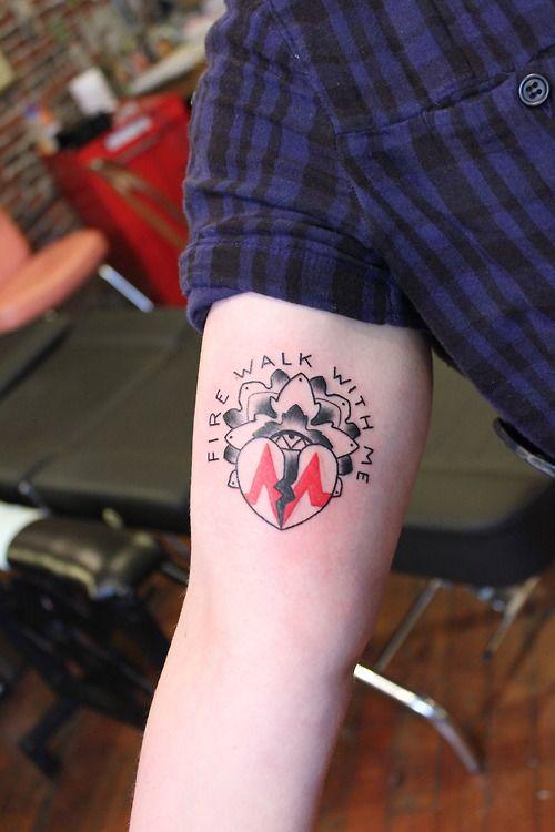 twin peaks tattoo | Fire Walk With Me