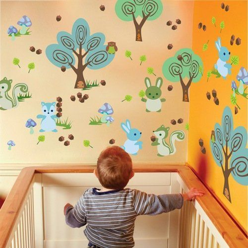 WallCandy Forest Friends Wall Stickers by Wall Candy. $48 ...