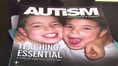 "FOX8 Report: ""1 in 58 NC children have autism...""  NASCAR Sprint Cup Race today, June 1, 2014, is Autism Awareness Day at the track!"