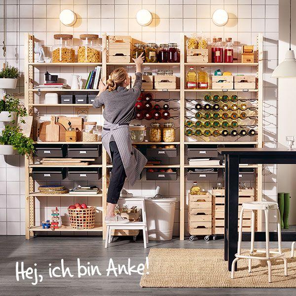 die besten 17 ideen zu speisekammer organisieren auf pinterest kleine speisekammer. Black Bedroom Furniture Sets. Home Design Ideas