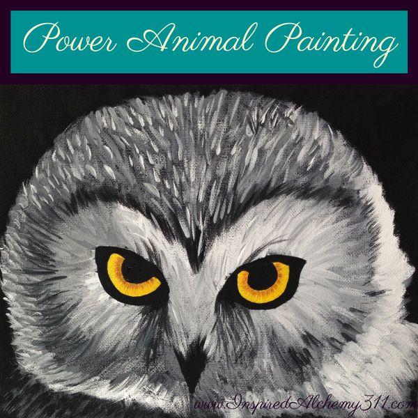 Power Animal Paintings | Inspired Alchemy 311
