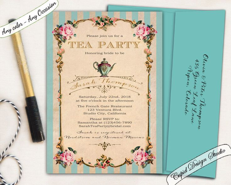 A personal favorite from my Etsy shop https://www.etsy.com/listing/221160047/bridal-shower-invitation-bridal-shower