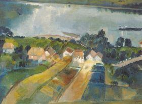 Szőnyi István - Zebegény, 1930