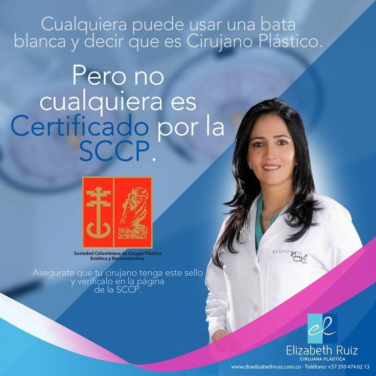 Encontrar al mejor cirujano plástico para tu caso tal vez es más fácil de lo que crees.  La valoración de una profesional idónea como la Dra. Elizabeth Ruiz es el primer paso para que tu cirugía plástica sea exitosa.  Dra. Elizabeth Ruiz Médica y Cirujana Cirujana Plástica Miembro de la Sociedad Colombiana de Cirugía Plástica. CQB - Consultorio 203  PBX: 572 513 15 -72 - 57 310 474 62 13 - 57 320 695 89 19  #plasticsurgery #cirugiaplastica #plasticsurgeon #cirujanaplastica