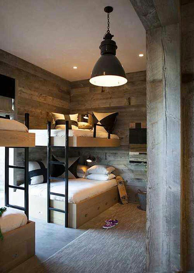 dormitorio-juvenil-estilo-industrial-con-literas