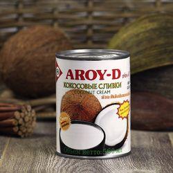 Кокосовые сливки Aroy-D (560 мл)  фото и картинка