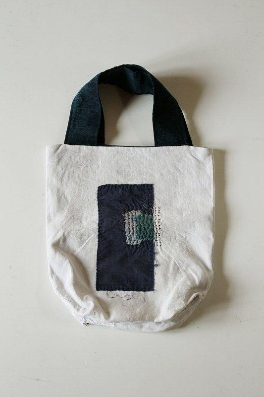 Antique linen patchwork boro tote di SASAKIYOHINTEN su Etsy