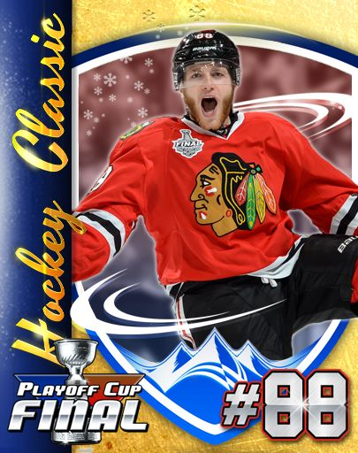 You can collect KANE CARDS in Patrick Kane's Hockey Classic, here's #9 - ALL STAR