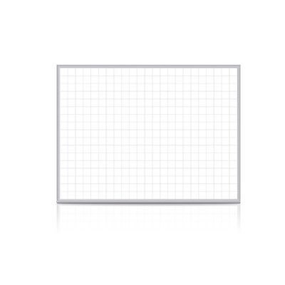 "Ghent Grid Wall Mounted Magnetic Whiteboard Size: 36.5"" x 48.5"""