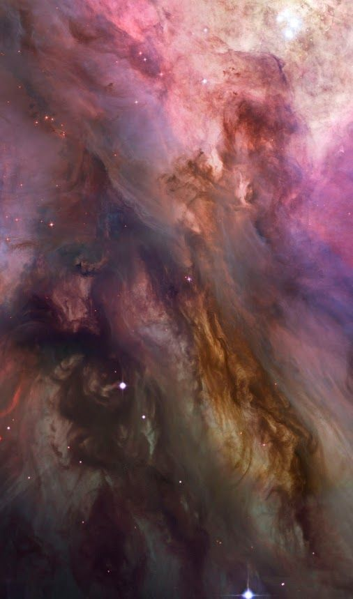 This dramatic image offers a peek inside a cavern of roiling dust and gas where thousands of stars are forming. The image, taken by the Advanced Camera for Surveys (ACS) aboard NASA's Hubble Space Telescope, represents the sharpest view ever taken of this region, called the Orion Nebula. More than 3,000 stars of various sizes appear in this image. Some of them have never been seen in visible light. These stars reside in a dramatic dust-and-gas landscape of plateaus, mountains, and valleys...