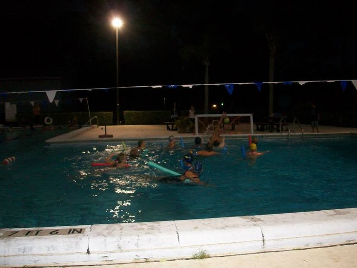 Night Time Pool Party