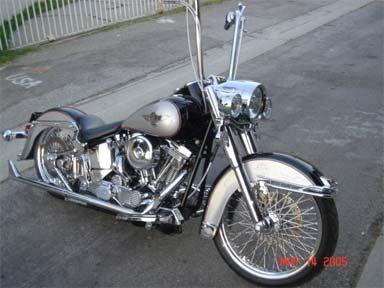 Gangster Harley Heritage | ... heritage springer softail heritage softail classic harley davidson