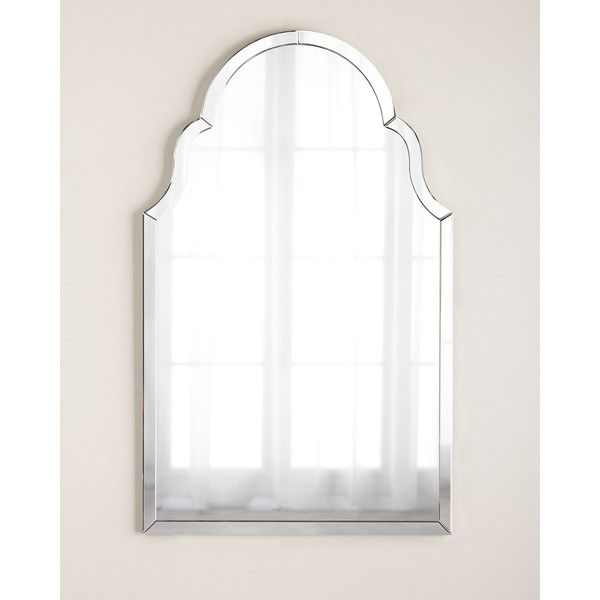 Silvered Mirror-Framed Mirror (£520) ❤ liked on Polyvore featuring home, home decor, mirrors, silver, flower mirror, handmade mirror, handmade home decor, silver framed mirror and mirrored mirror