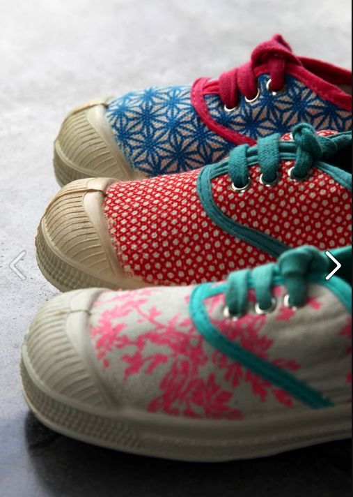 bakker made with love, bensimon - #sneakers #shoes #patterned