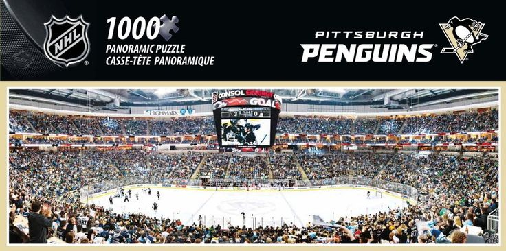 NHL Pittsburgh Penguins - 1000 Piece Jigsaw Puzzle