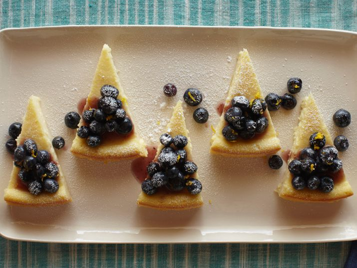 Blueberry Mascarpone Cheesecake from FoodNetwork.com