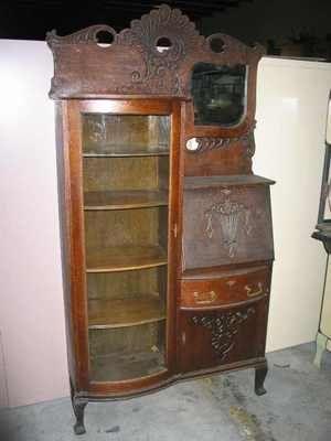 Exceptional Art Furniture, Antique Furniture, Secretary Desks, Curio Cabinets, Golden  Oak, Furniture Companies, Side By Side, Bookcases, Tigers