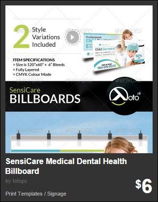 SensiCare Medical Dental Health Billboard