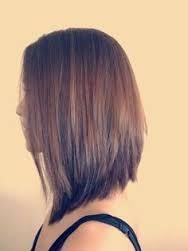 Resultado de imagem para cabelo castanho long bob