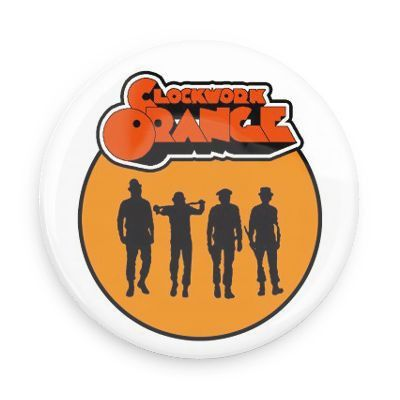 A Clockwork Orange Logo Magnet