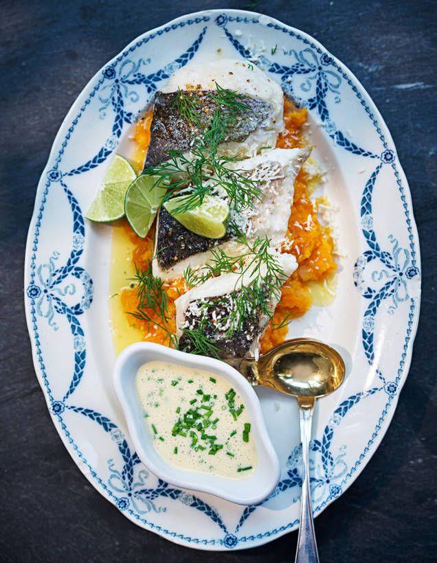 En helt ljuvlig fiskrätt. Vi rekommenderar att servera en god messmörs- och gräslökssås till, som du hittar recept på här.