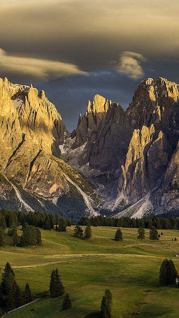 Alpe di Siusi, Dolomiti, italy