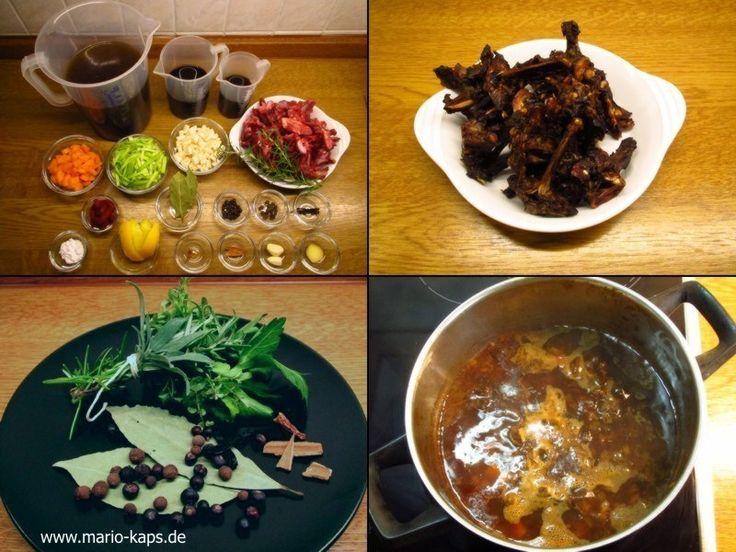 Wildsauce (Sauce Gibier) - Mario´s Fire Food & Fine Food Impressum: http://www.mario-kaps.de/impressum/