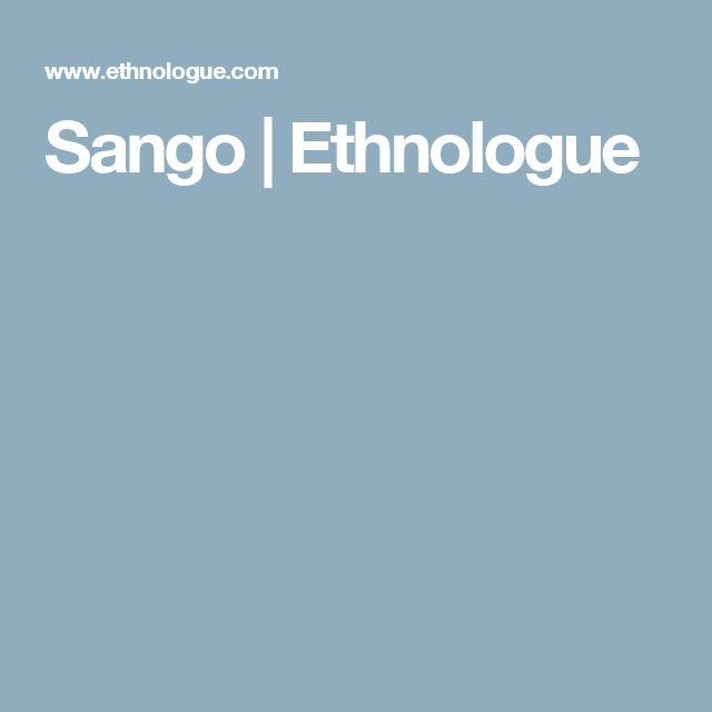 Sango   Ethnologue