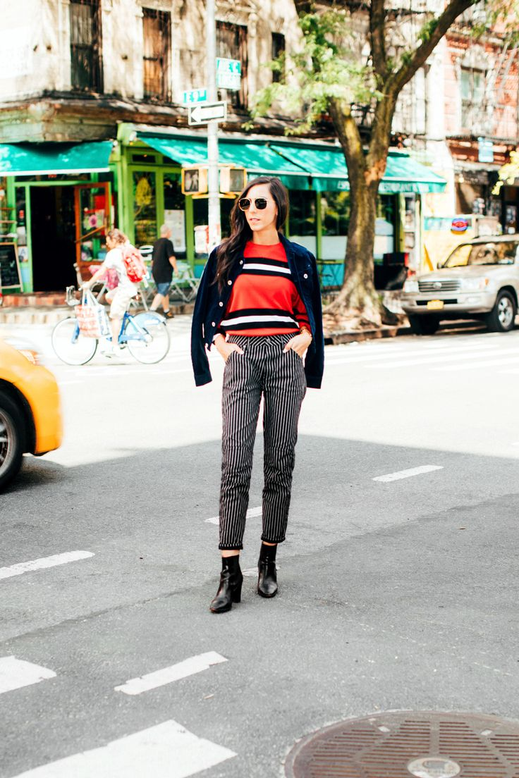 How Our Editors Are Wearing G-Star Raw Jeans to Fashion Week - Coveteur.com