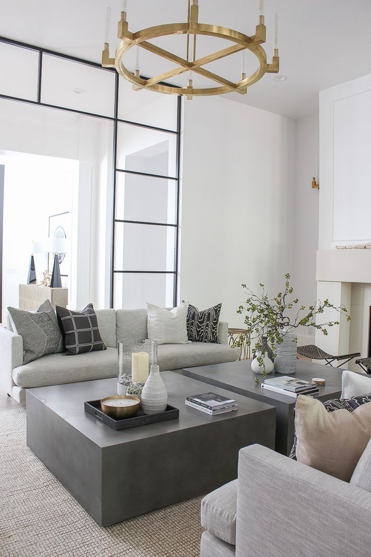 Our Sleek Minimalist Living Room The House Of Silver Lining Contemporary Living Room Design Minimalist Living Room Modern Contemporary Living Room