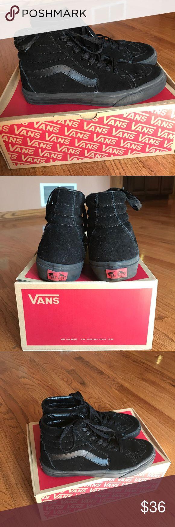 Vans Black skate high vans Vans Shoes Sneakers