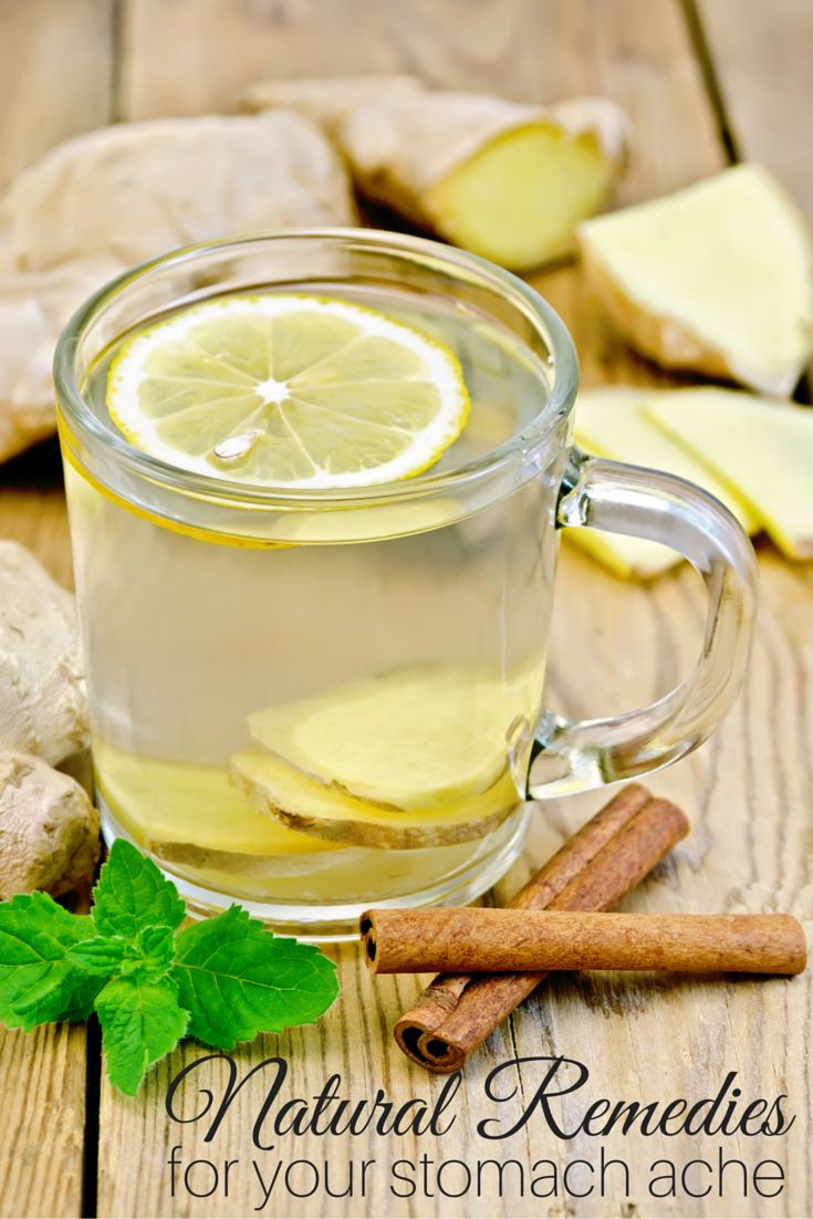 How To Get Rid Of A Tummy Ache Naturally
