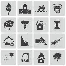 Image result for natural disaster icons