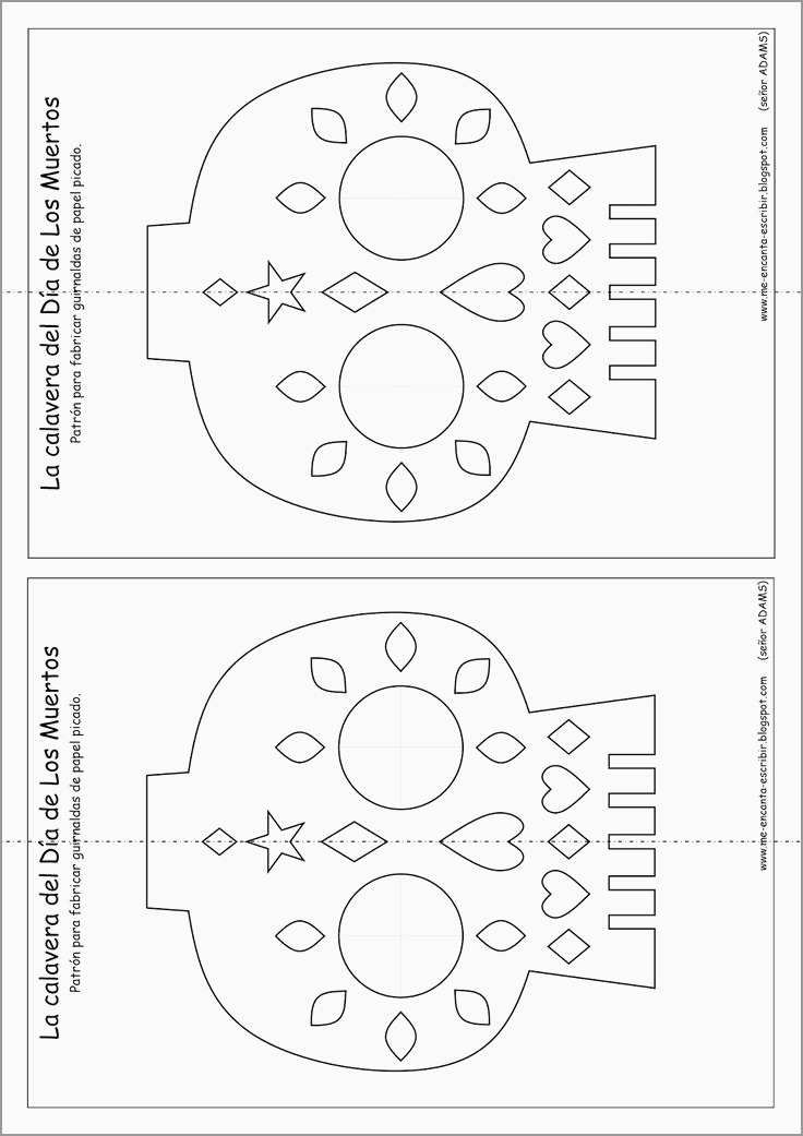 Free Printable Papel Picado Template Fabulous Best 25 Papel Picado Ideas On Pinterest With Images Day Of The Dead Diy Papel Picado Halloween Crafts