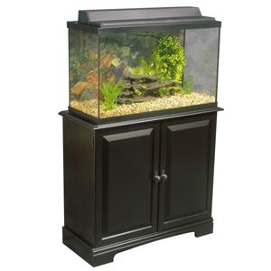 $125 Top Fin 29 Gallon Ready-to-Assemble Aquarium Stands - PetSmart