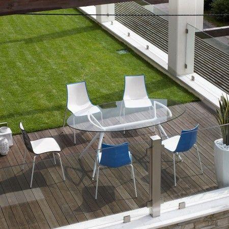 Zebra stoel Scab Design blauwe kuip | Musthaves verzendt gratis