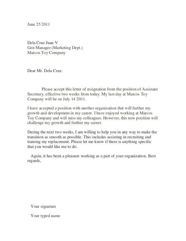 Best 25 Sample of resignation letter ideas on Pinterest  Sample of letter Resignation letter