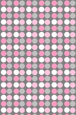 Pink & Gray polka dot wallpaper Wallpaper. Phone background. Lock screen.