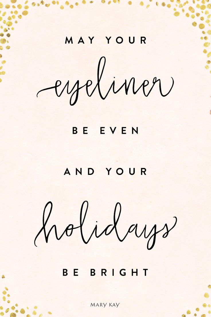 We wish you the most glamorous and cheerful holiday season! Try a gold eyeliner look perfect for New Year's Eve with Mary Kay At Play® Bold Fluid Eyeliner in Gold Metal!   Mary Kay