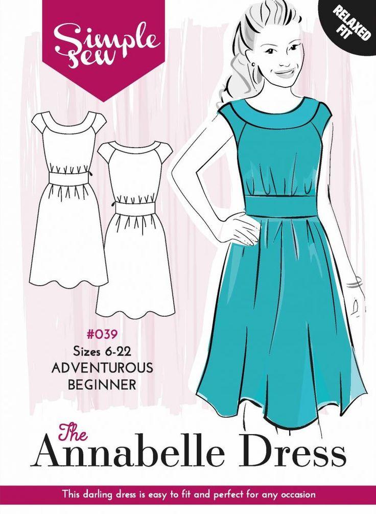 simple sew annabelle dress