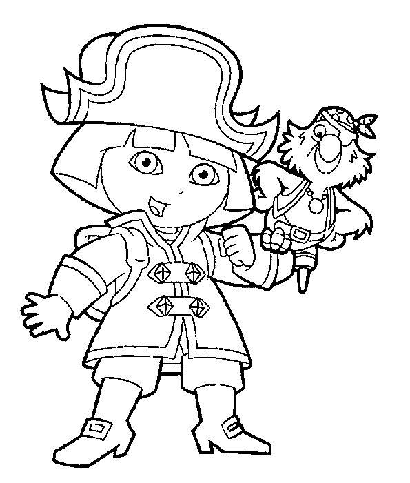 kleurplaten piraten en prinsessen
