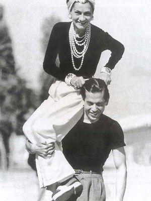 Coco Chanel frolicking - coco gabrielle chanel photos - mylusciouslife.jpg