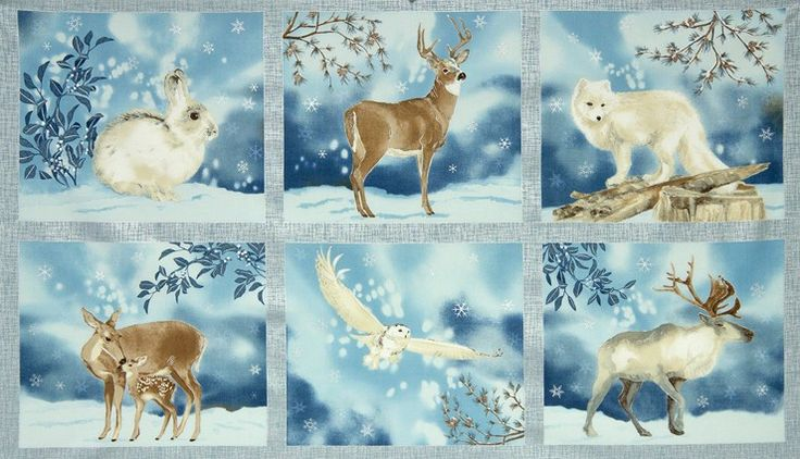 Robert Kaufman Fabrics Winter White by Lynnea Washburn