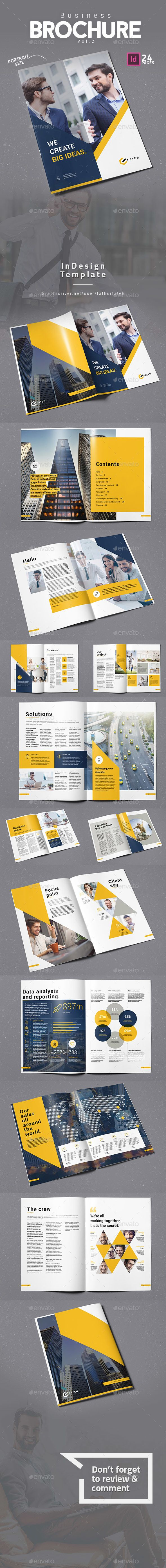 Business Brochure Vol.2 #us #banking  • Download here → graphicriver.net/...