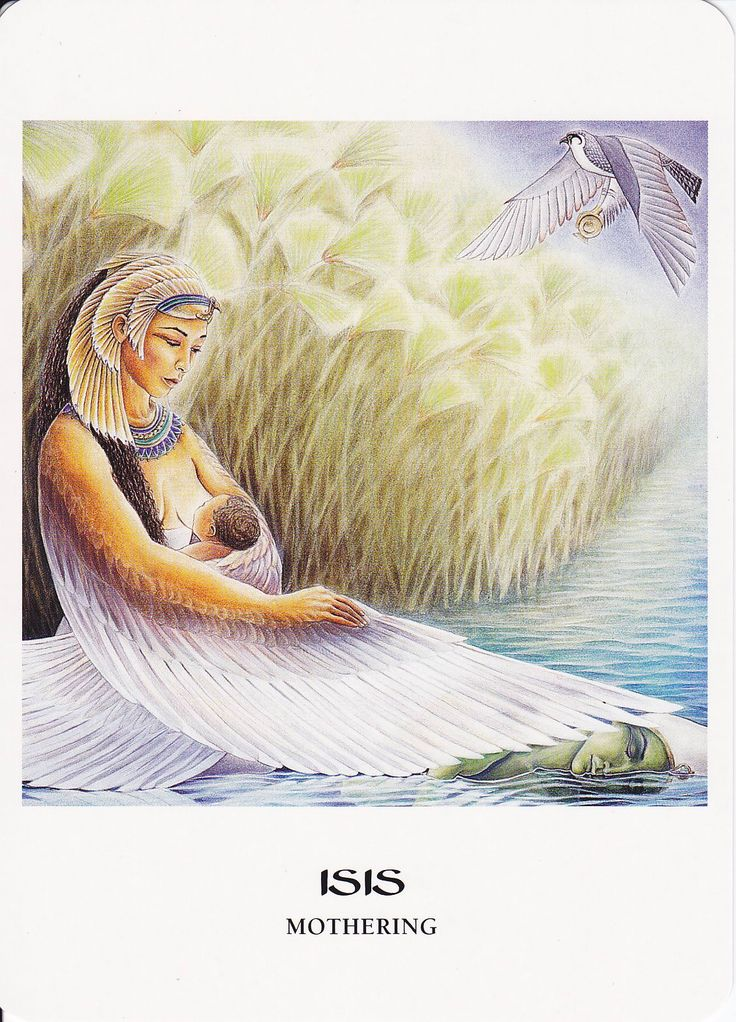 ISIS -- and you can call her ISET, if you prefer, the Egyptian way -- is the mother goddess.