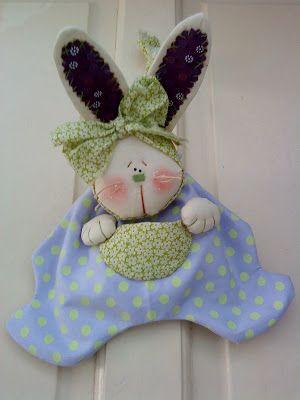 Pedacinhos de Mim: P A P saquinho de coelho