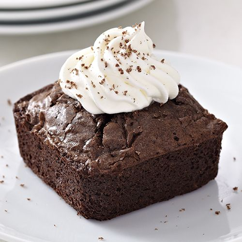 Black Forest Brownie Dessert - The Pampered Chef® Make this with the brownie pan.  Call me with your order 304-641-3738.