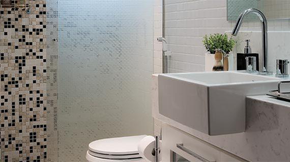 Grandes Idéias Para Casa: Banheiros com Pastilhas